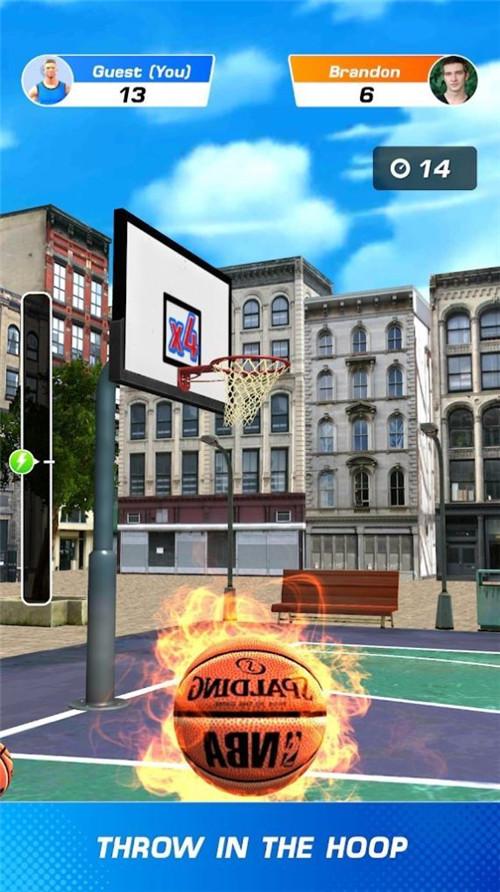 篮球冲突扣篮大赛中文版破解版